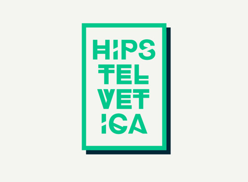 Hipstelvetica free fonts of year 2013