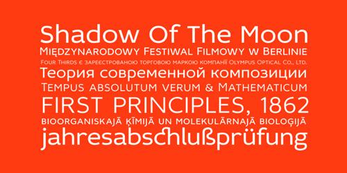 Idealist Sans free fonts of year 2013