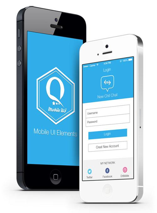 Mobile Ui Elements App UI UX Design for Inspiration