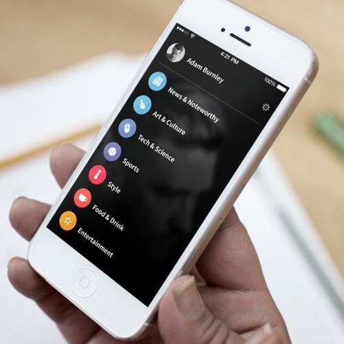 Maria News Mobile App UI UX Design for Inspiration