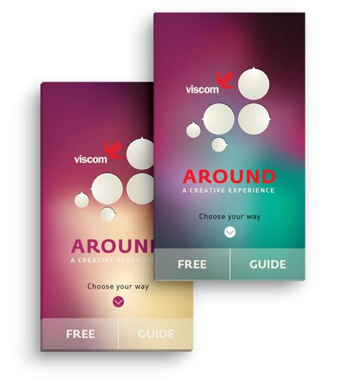 Around - MA Thesis Mobile App UI UX Design for Inspiration