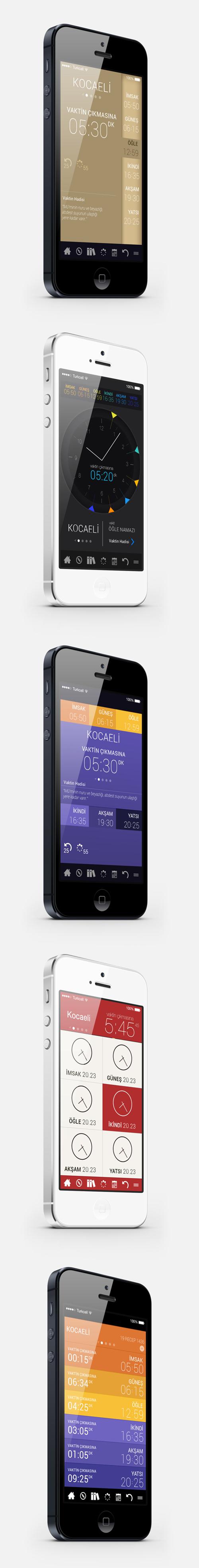 Namaz Mobile App UI UX Design for Inspiration