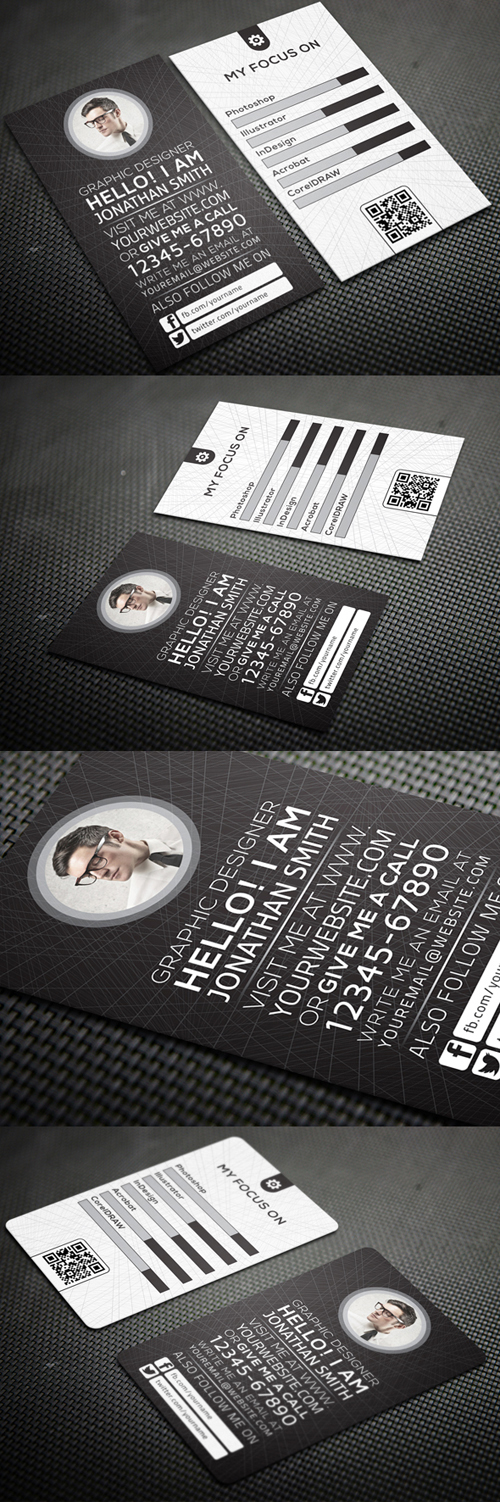Personal Business Cards Design-21