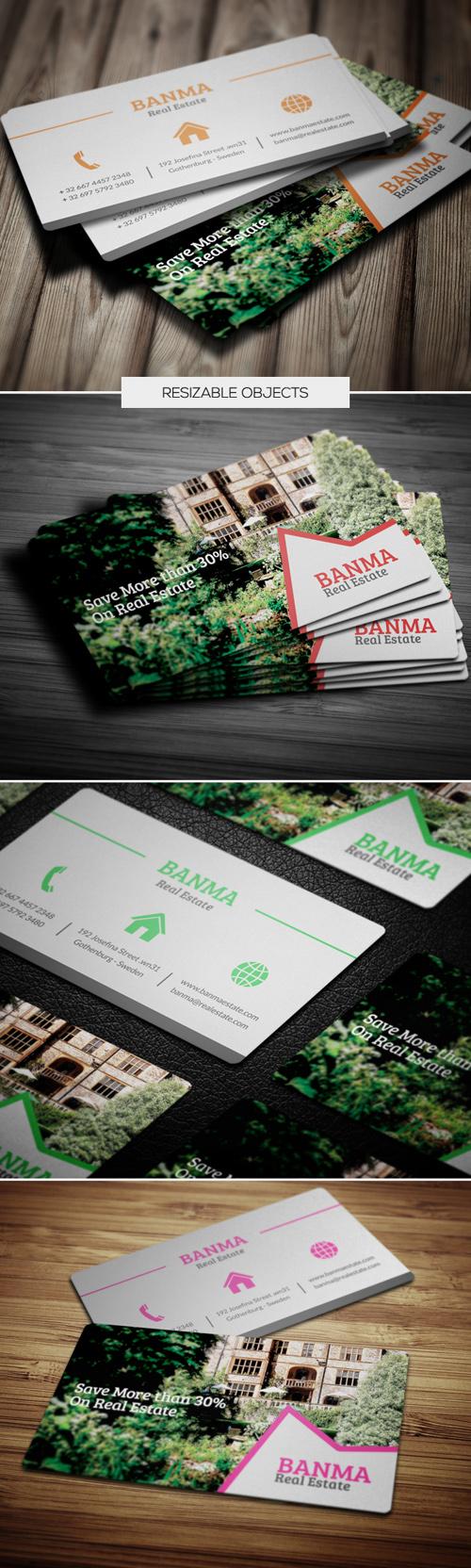 Read Estate Business Cards Design-3