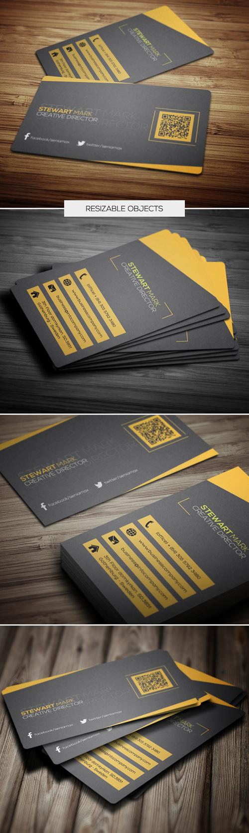Creative Director Business Cards Design-5