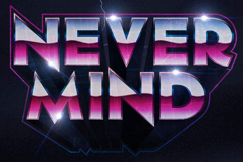 Create a 1980s Inspired 3D Text Effect in Photoshop