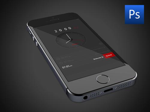 Free PSD Alarm App U?