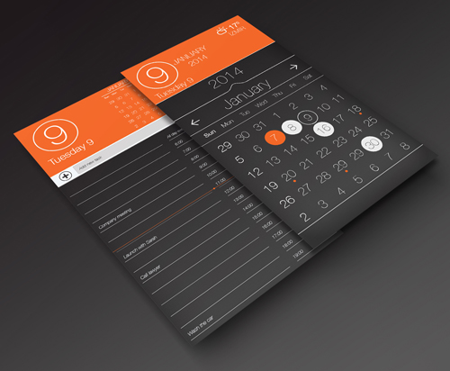 Calendar app UI Design Concepts to Boost User Experience