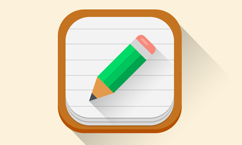 Flat iOS 7 App Icon