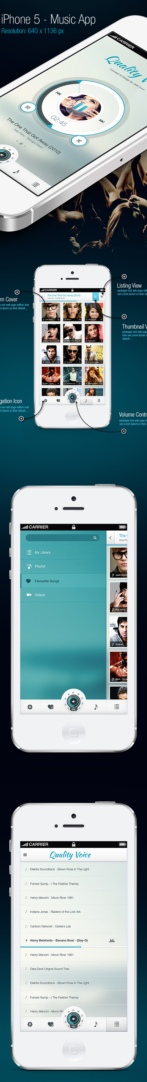 Quality Voice - Mobile App UI Design Concepts to Boost User Experience