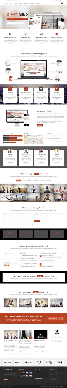 Nevermind - Multi Purpose WordPress Theme