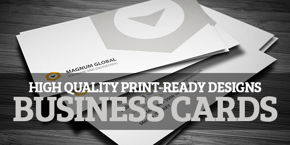 Business Cards: 22 High Quality Print-Ready Designs