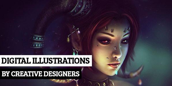 26 Amazing Digital Illustrations by Creative Designers
