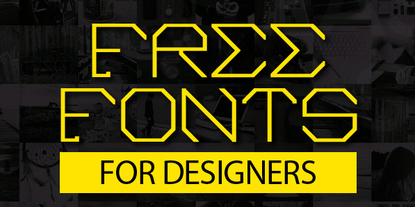 19 Modern Free Fonts for Designers