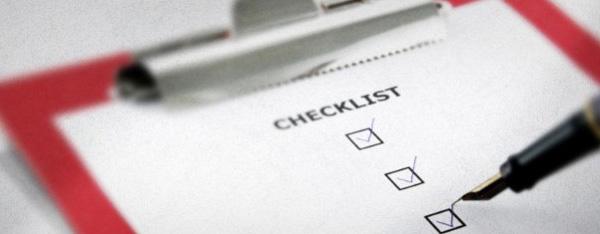 Graphic Designer Quality Check List