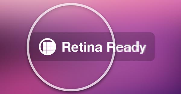 Retina Display or Retina Support websites