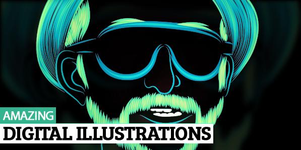 30 Amazing Digital Illustrations by Patrick Seymour