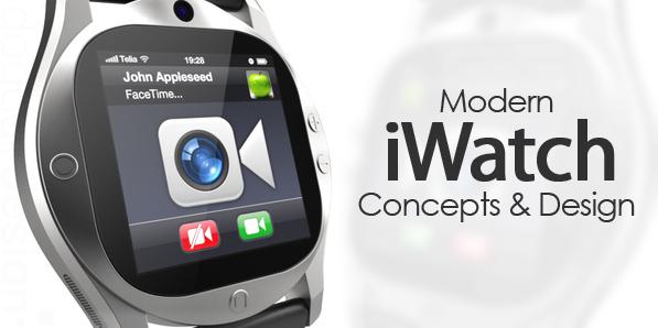 Best of 2014 - 32 Amazing iWatch Concept Designs