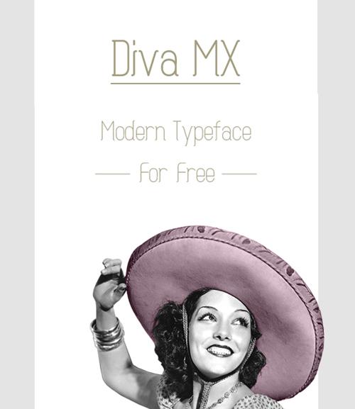 Diva MX Typeface