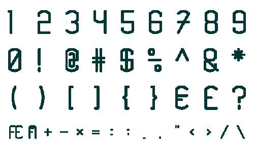 Knarrstaver Font