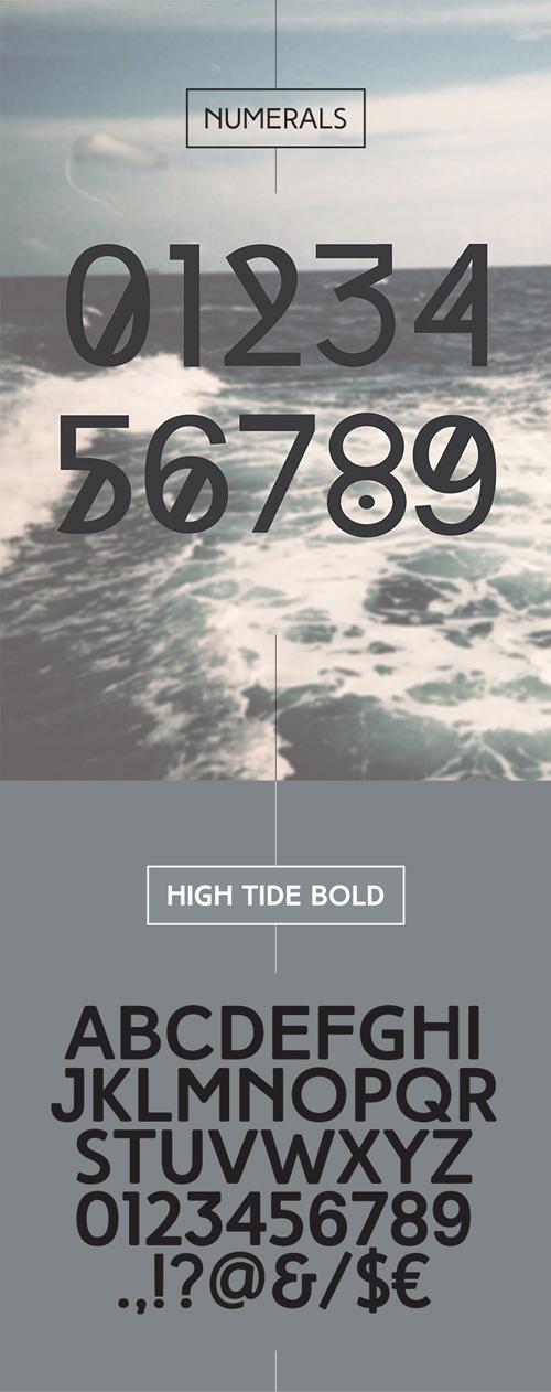 HighTide Font