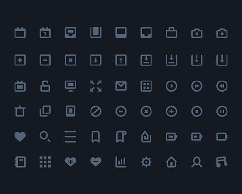 54 Stylish icons AI