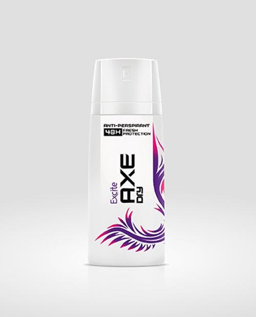 Men's Grooming Range Lynx  Packaging Design
