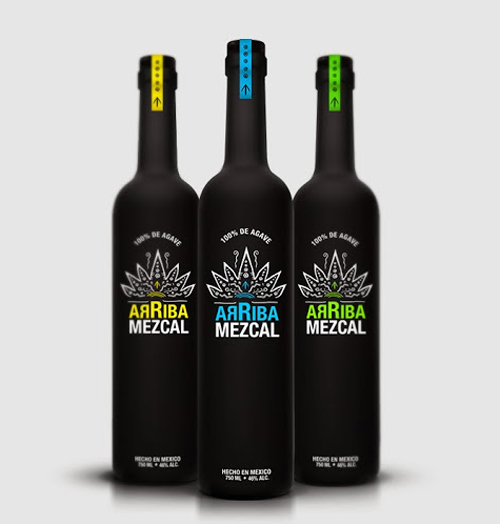 Arriba Mezcal Packaging Design