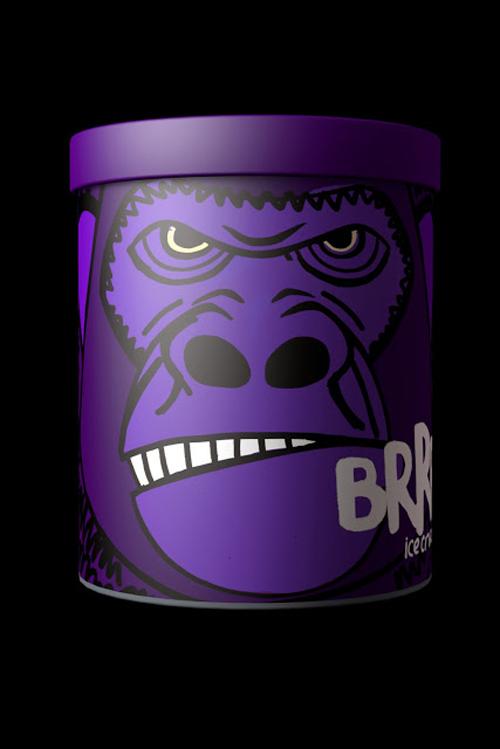 BRRR Ice Cream Packaging Design