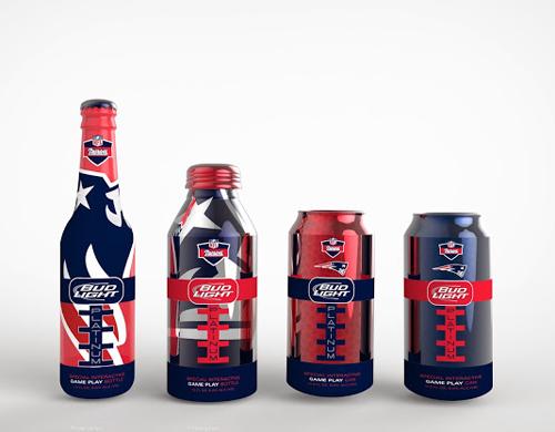 Bud Light Packaging Design