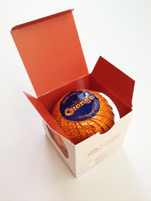 Terry's Chocolate Orange Packaging Design