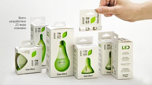 Geniled Packaging Design