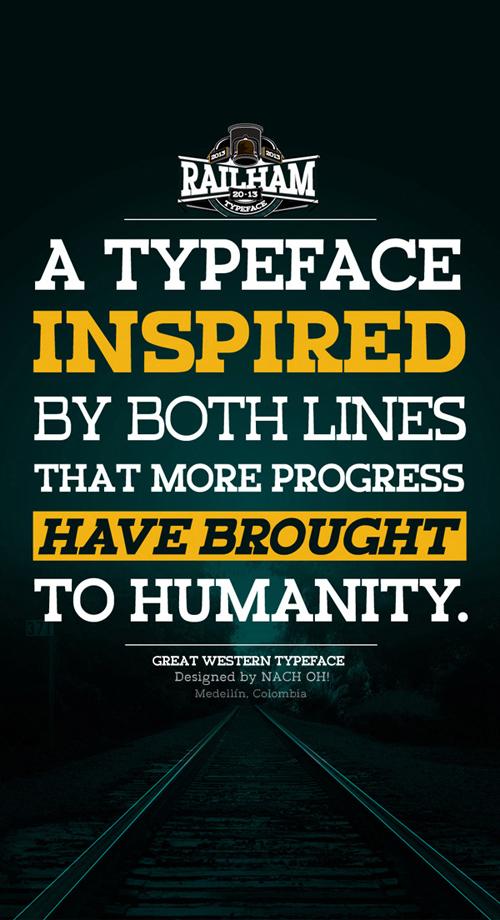 RailHam Typeface