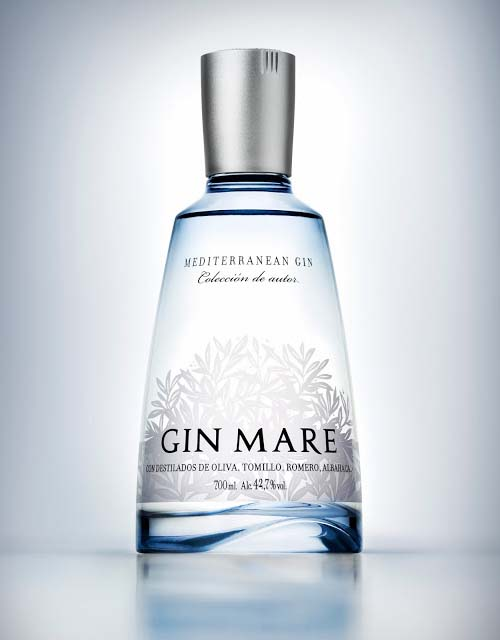 Gin Mare Packaging Design