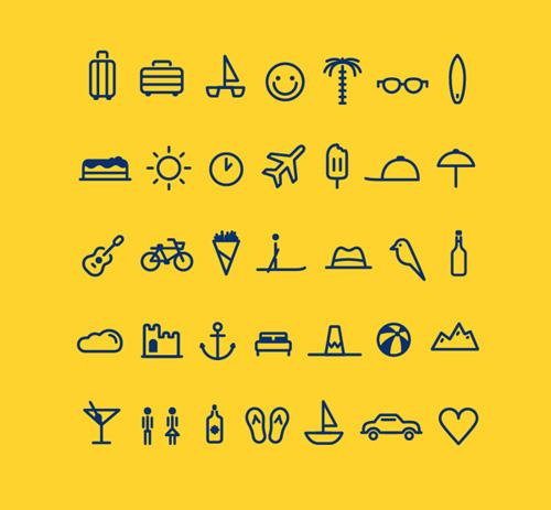Voyage Transat Icons