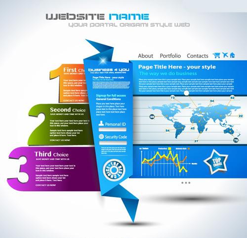 Web Infographic Elements - 10