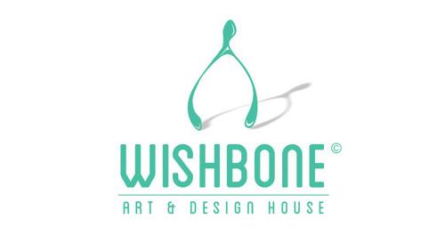 WIISHBONE art and design house brand launch #logo #design