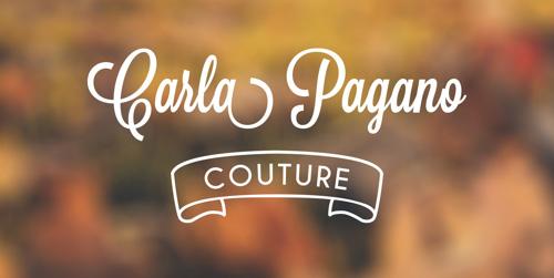 Carla Pagano Couture - Brand Identity #logo #design