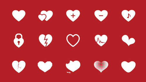 Heart Vector - 16