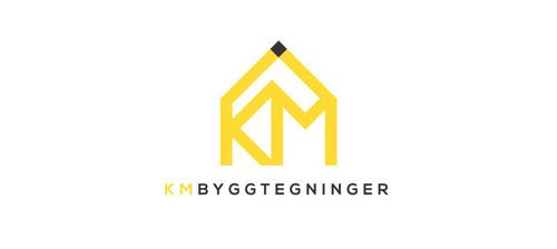 KM Byggtegninger #logo #design