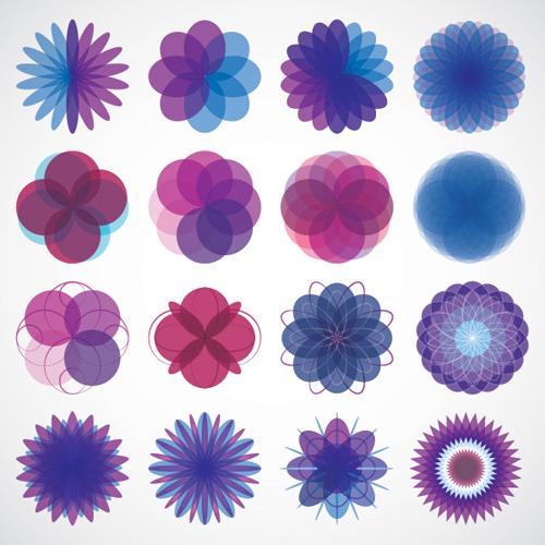 Geometric Shapes Vector Graphic - 1