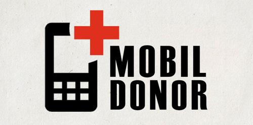Mobildonor / Logo Design #logo #design