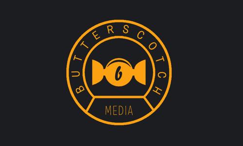 butterscotch media branding #logo #design