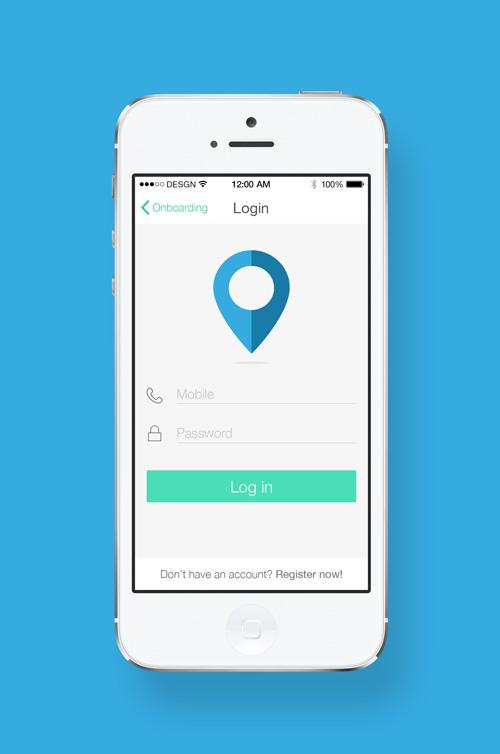 Modern App Sign In UI and Login UI Screen Designs-25