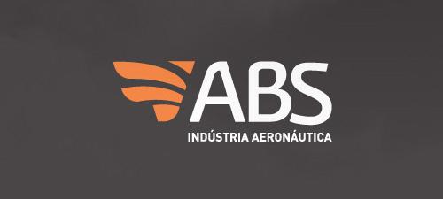 ABS - Industria Aeronáutica #logo #design