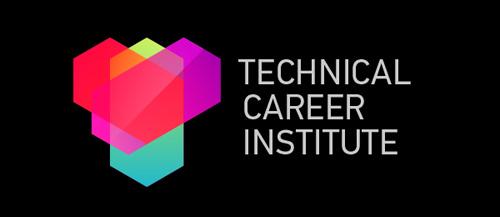 Technical Career Institute #logo #design