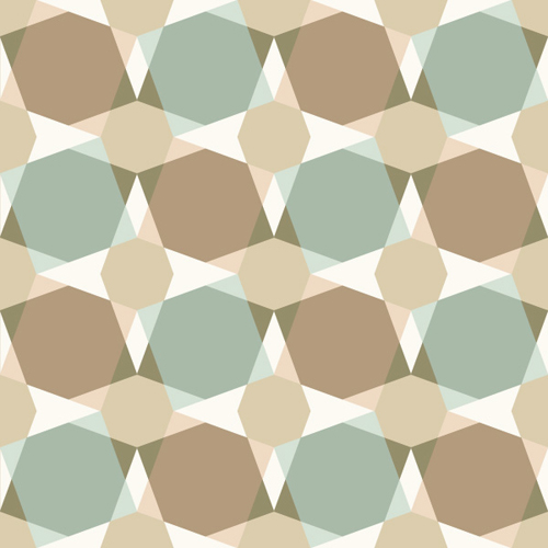 Square Seamless Pattern Vector Graphic - 5