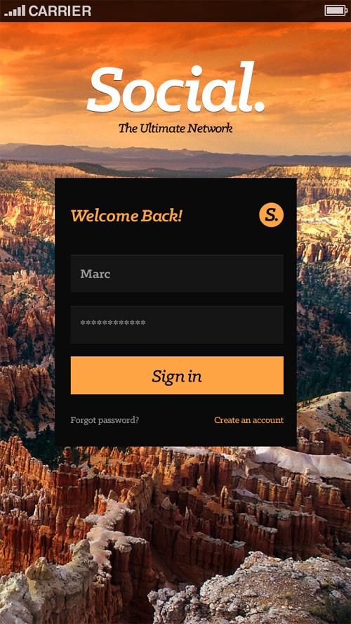 Modern App Sign In UI and Login UI Screen Designs-8