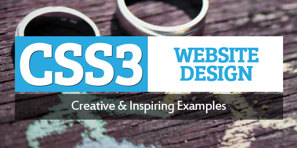 CSS3 Websites Design – 30 Fresh Examples