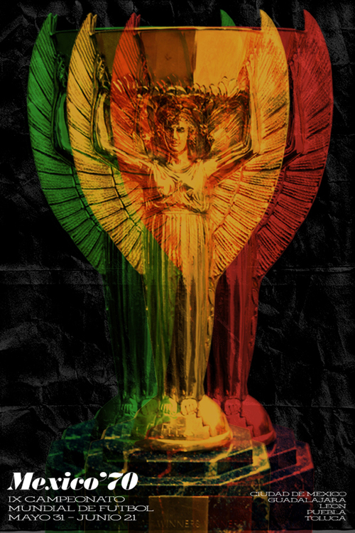 Fifa World Cup 1970 Poster